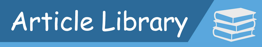 ITS Article Library Banner
